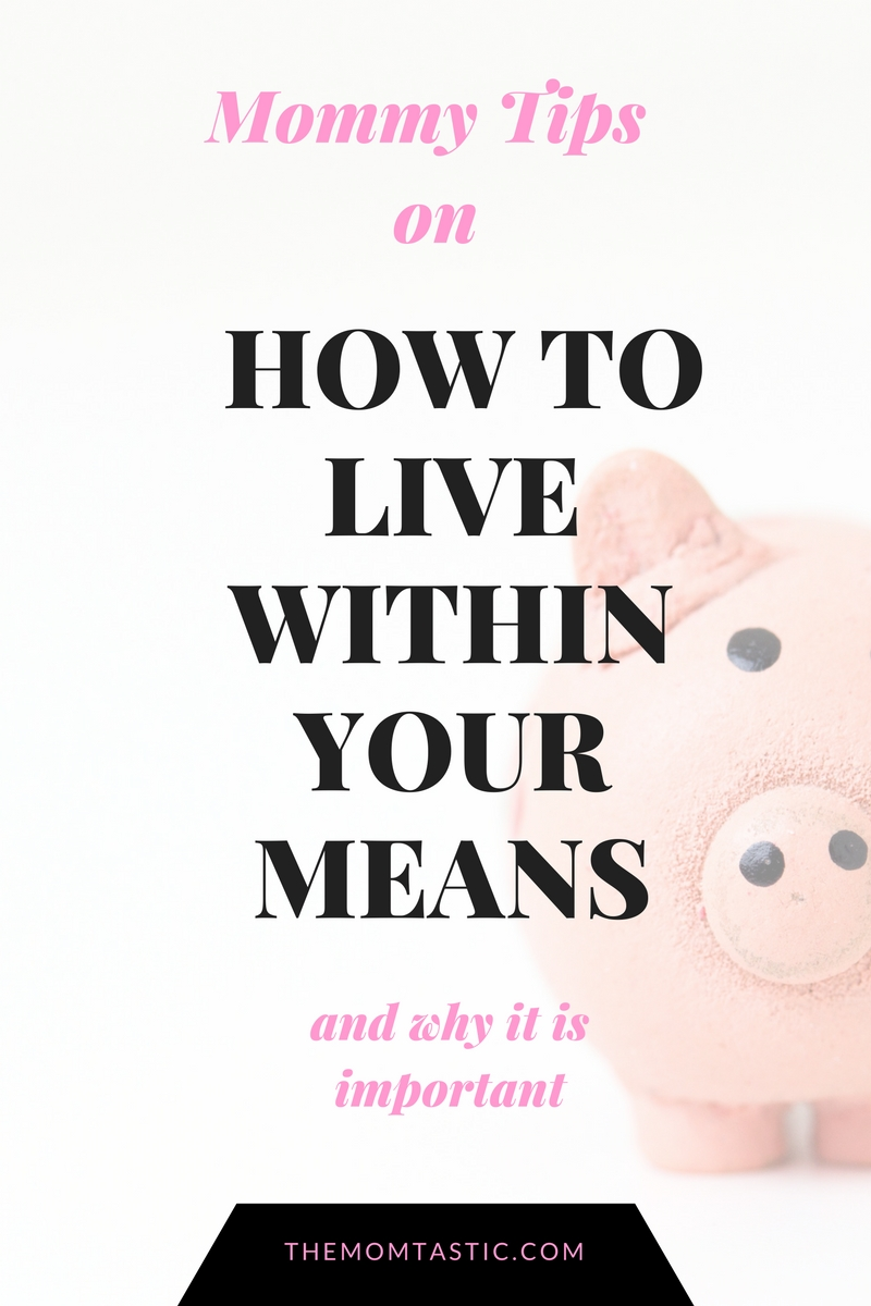 How to Live Within Your Means and Its Importance